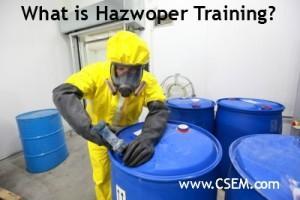 what is hazwoper training